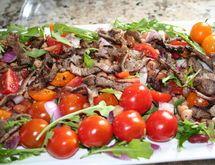 Salata s pasuljem i rukolom